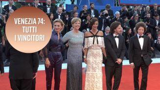 Ecco tutti i vincitori di Venezia 74