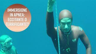 Immersione in apnea: il campione mondiale è lui