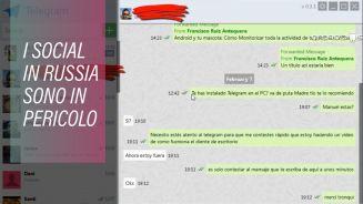 In Russia stanno cercando di cancellare Telegram