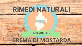 Rimedi naturali… la mostarda per l'artrite